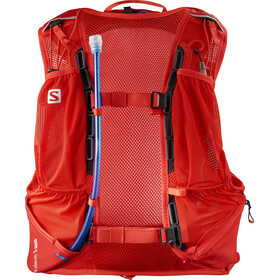 Salomon Skin Pro 10 Backpack Set fiery red